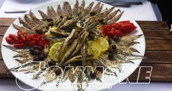 Acciuga fritta a Monterosso