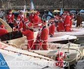 Domenica 11 dicembre Babbo Natale in gommone sul lago di Garda