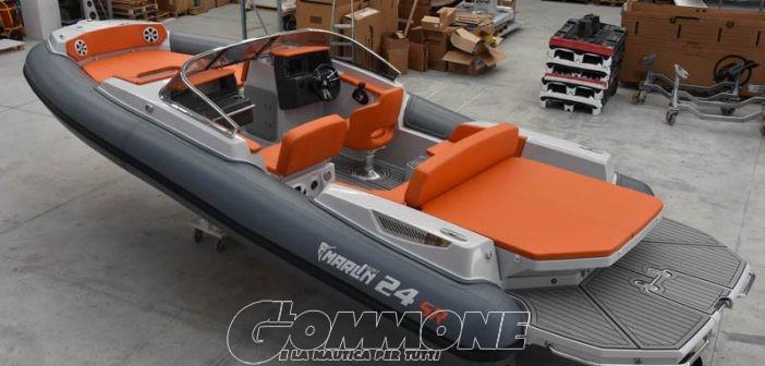Marlin Boat: pronto al varo il 24 SR, primo gommone bow rider