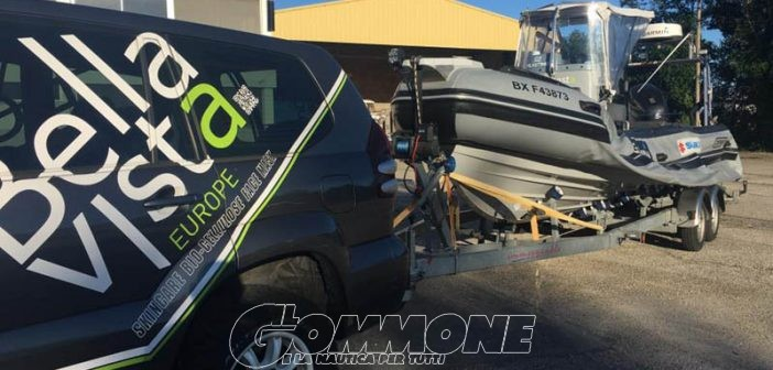 Raid Bordeaux-New York in gommone: Maupaté ci riprova