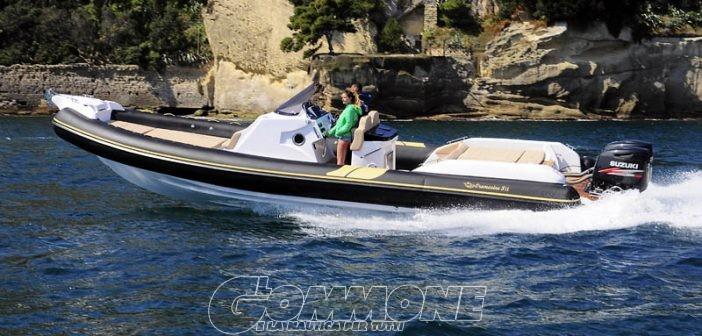 Oromarine al «Navigare» di Napoli con sei gommoni in acqua