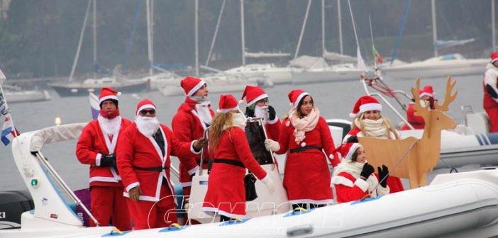 Babbo Natale con il Gommone Club Verona sul Garda