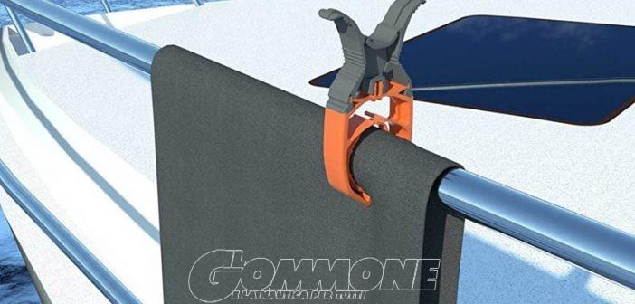 Clip a prova di vento per non perdere… il bucato a bordo