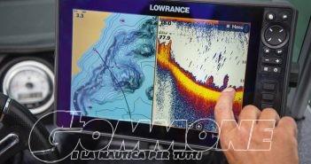 Tante novità Lowarance e Simrad a bordo dei gommoni al «Pescare Show»