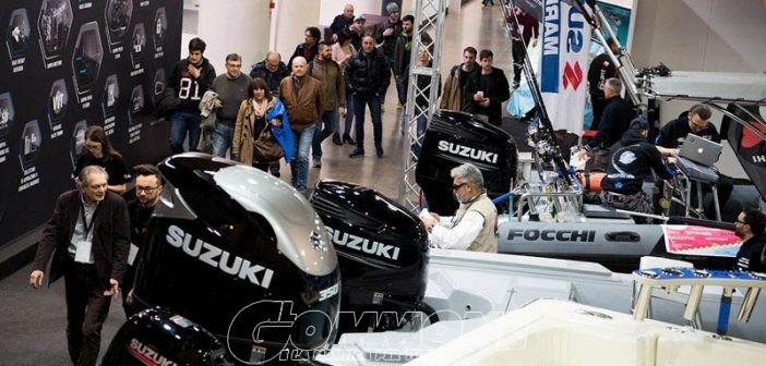 Gommoni (e motori) in vetrina al 20° Pescare Show di Vicenza