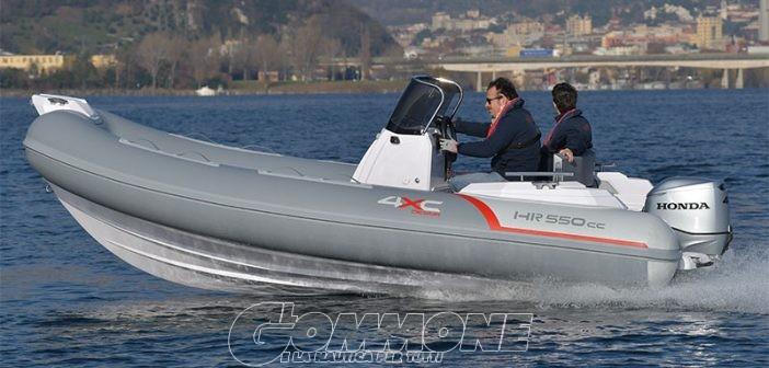 HR550CC, il nuovo package «senza patente» di Honda: la prova completa