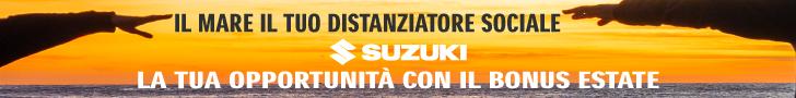 SUZUKI Newsbanner dal 27 maggio al 27 agosto 2020