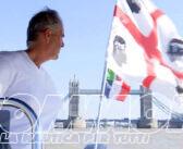 Roberto Pappalardo conquista Londra con il suo gommone